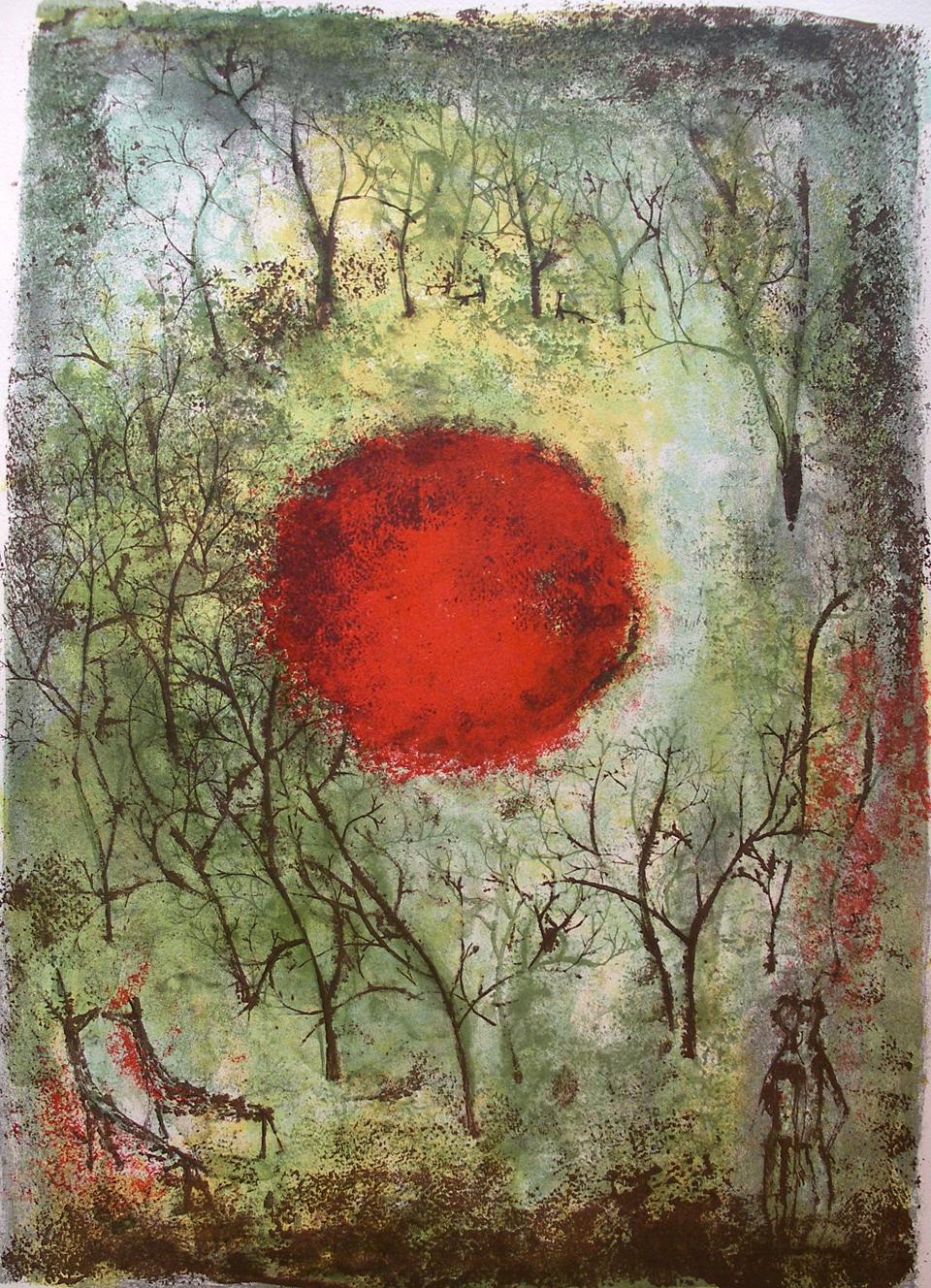 10/24 – Le soleil rouge